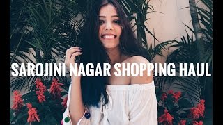 Saraojini Nagar Shopping Haul | The KN Clan