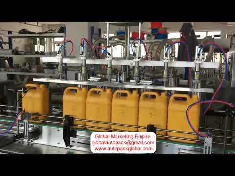 Automatic Oil Filling Machine (6 Head)