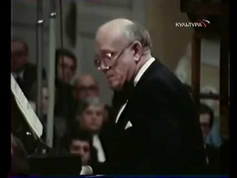 Святослав Рихтер. Бах - концерт ре-минор, для фортепиано с оркестром