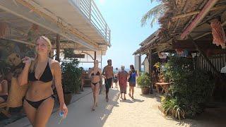 Walking Railay beach, Krabi Thailand