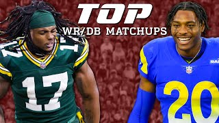 Top 3 Wide Receiver vs. Cornerback Matchups for Divisional Round by NFL