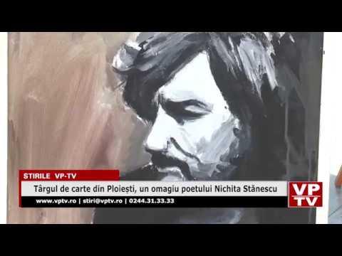 Târgul de carte din Ploiești, un omagiu poetului Nichita Stănescu