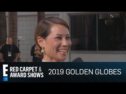 "Lucy Liu Says Farewell To ""Elementary"" At 2019 Golden Globes 