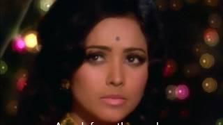 Mukesh - raaste ka patthar (English Subtitles) - YouTube
