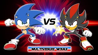 Sonic the Hedgehog vs Shadow the Hedgehog Animation - Multiverse Wars!