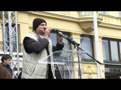 VIDEO Prosvjed hrvatskih branitelja na Trgu bana Jela i a br