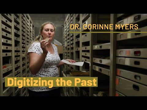 Digitizing the Past: UNM scientist curates digital fossil database