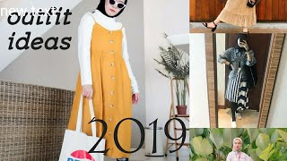 OUTFIT HIJAB Remaja Kekinian 2019!  #OOTD Hijab Cassual