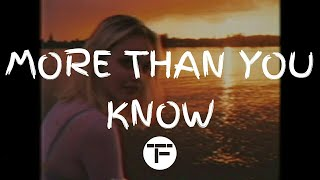 [TRADUCTION FRANÇAISE] Axwell Λ Ingrosso - More Than You Know
