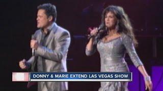 Entertainment legends Donny & Marie Osmond extend residency