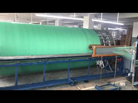 Sectional Warping Machine For 190cm Rapier Loom
