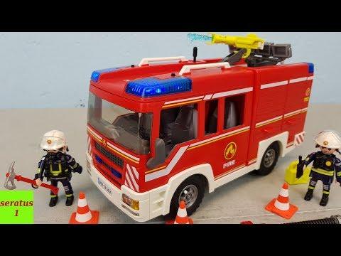 Playmobil Feuerwehr Rüstfahrzeug 9464 auspacken seratus1