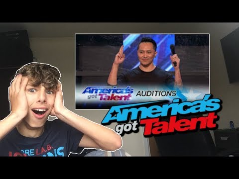 Demian Aditya: Escape Artist Risks His Life During AGT - America's Got Talent 2017 - Reaction (видео)