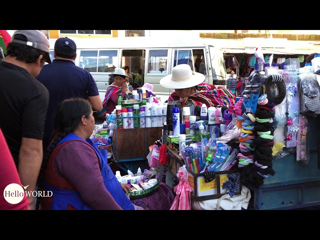 Impressionen vom Mercado Campesino in Sucre