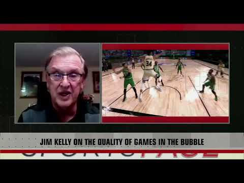 [Sport5]  Jim Kelly on the quality of the #NBA bubble games