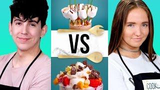 MILKSHAKE CHALLENGE?! | COOK THAT w/ Bobby Mares & Kenzie Elizabeth