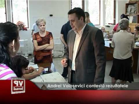 Andrei Volosevici contestă rezultatele