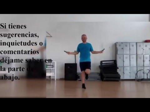 El adelgazamiento en la piscina del ejercicio del vídeo para el adelgazamiento para los principiante