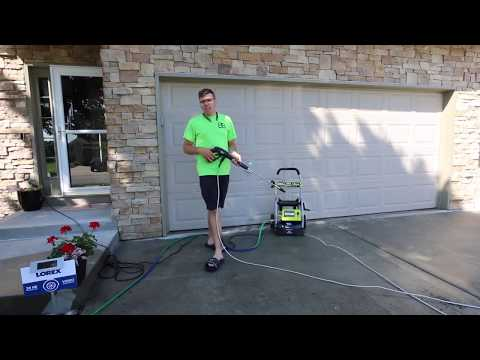 Ryobi 2,000 PSI Pressure Washer Review (Home Depot)