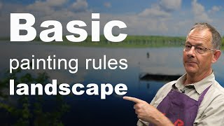 Basic Rules To Win At Landscape Painting.
