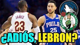 LEBRON CERCA DE SIXERS - PLAYOFFS NBA 2018