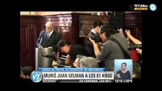 Visión 7 Repercusiones Por La Muerte De Juan Gelman