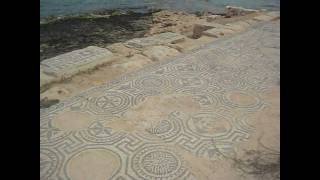 preview picture of video 'Roman mosaic at Sabratha'
