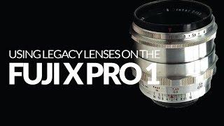 Using Manual Lenses on X Pro 1