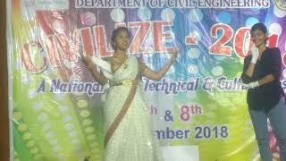 Mahanati title song dance performance in VRSEC by Teja Rajulapati and Team
