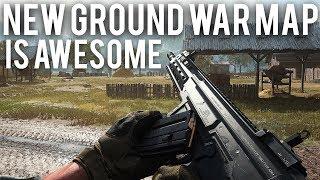 Modern Warfare New Ground War map is awesome