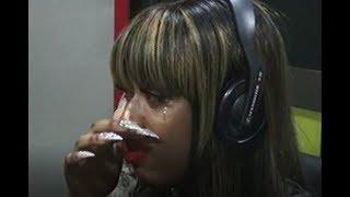 Fantana Breaks Out In Tears On Happy FM
