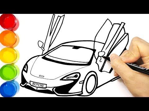 How To Draw Cars 4 Lightning Mcqueen Jackson Storm And Cruz Ramirez