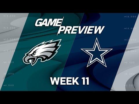 Philadelphia Eagles vs. Dallas Cowboys | NFL Week 11 Game Preview | NFL Playbook
