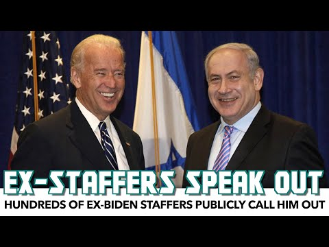 Hundreds Of Ex-Biden Staffers Publicly Call On Him To Free Palestinians