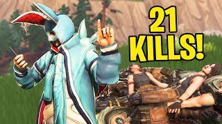 CRAZY 20 BOMB!! (Unstoppable) GAMEPLAY IN FORTNITE BATTLE ROYALE!!!
