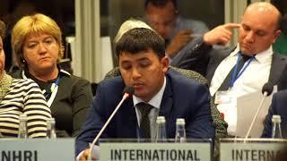 Выступление Файзулло Сафарова на конференции ОБСЕ - 2017 (18.09.2017)