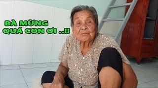 Cụ bà gần 100 tuổi bị con bỏ rơi đã trả hết nợ, thoát kiếp đội nắng bán vé số