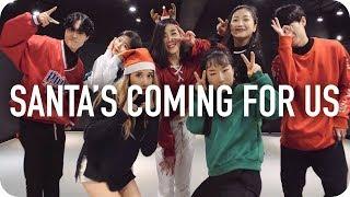 Santa's Coming For Us   Sia  Tina Boo Choreography