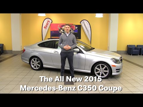Review: The New 2015 Mercedes-Benz C350 C-Class Coupe Minneapolis Minnetonka Bloomington MN