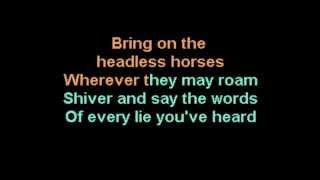 Bring on the Dancing Horses Echo & the Bunnymen karaoke CustomKaraoke RARE custom and
