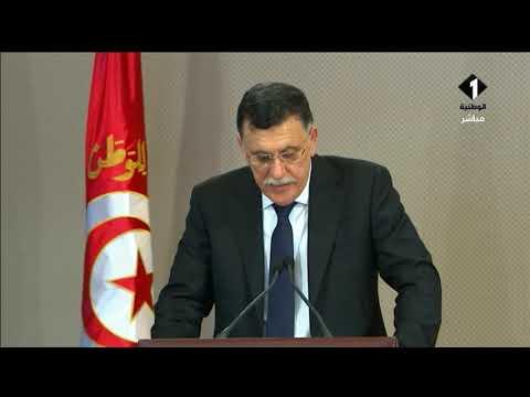 تونس تودع رئيسها كلمة تأبين السيد رئيس حكومة الوفاق الليبية فايز السراج