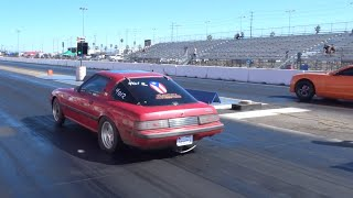 13B Smoking V8s  + New  Best Personal 1/4 Mile Time