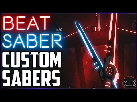 Custom Sabers for Beat Saber [Tutorial] — Oculus
