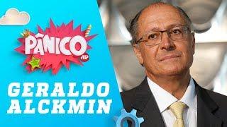 PÂNICO AO VIVO: Candidato à presidência Geraldo Alckmin