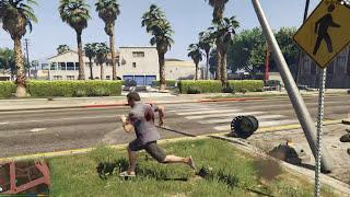 GTA 5 Mods #13 - The Flash vs Quái vật bí ẩn Abomination