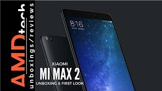 Xiaomi Mi Max 2 Black Global Edition: Unboxing & First Impression