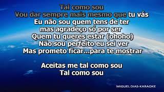 Fernando Daniel - Tal Como Sou (Karaoke) Versão