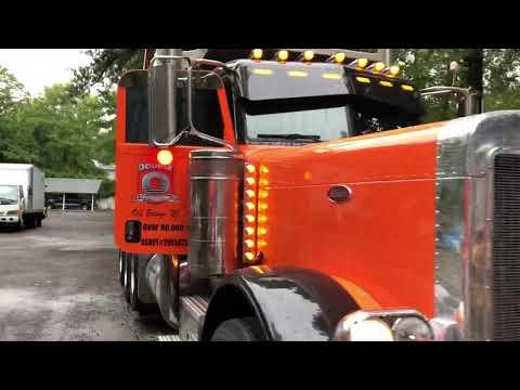 2001 peterbilt dump truck PADRINO TRUCKING
