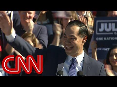 Julián Castro officially announces 2020 presidential bid