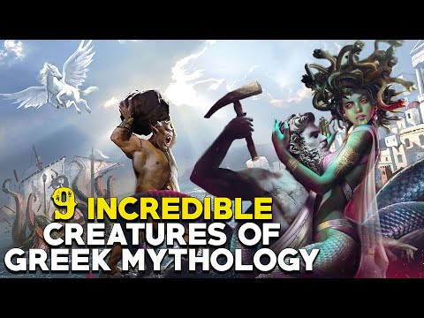 Greek Mythical Creatures: Legendary Beasts and Animals